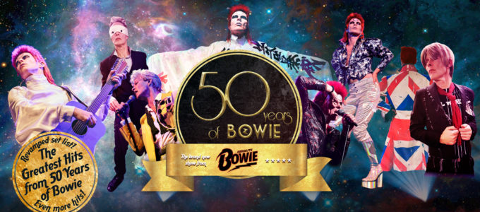 bowie 50 years event banner 2018 to 2019 blank